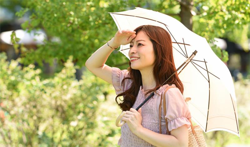 紫外線からお肌を守る正しいUVケア